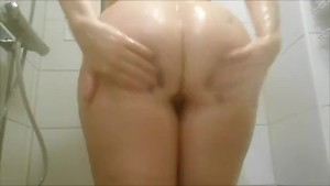 Me, my ass and boyfriends thumb ...be nice my first almost solo