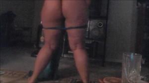 Striptease Booty Dance With a Veil