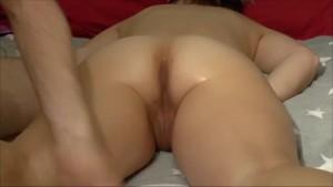Buttplug training and masturbating with vibrator until orgasm