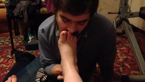 BBW Tanya Mellow Feet Licked