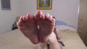 Stoner Girl Smelly Foot/Sock Worship