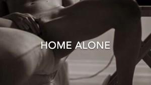 BBC Fucking Horny Blonde (Home Alone)