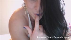 Stunning Brunette model big clit, fingering, sucking - exhibitionist