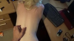 POV doggystyle fucking my wife on cam