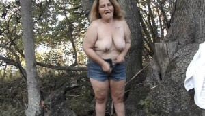 Stripping In The Woods