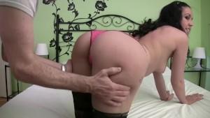 Homemade fake casting to a horny spanish babe