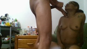 New Ade Stone!!! Hottest Skype Ends with Delicious CumShot On Ebony Babe