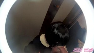 01 - Cum in the elevator - Friday Night part1 - Nikki s Weekends #1