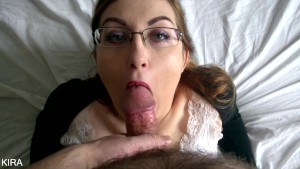 Step Sister Sucking Cock And Gets Sloppy Facial Cumshot