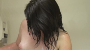 Ivy Showering, Lotion and Dress