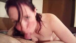 Sexy Blow job Part 2 Sucking his balls dry!!!!