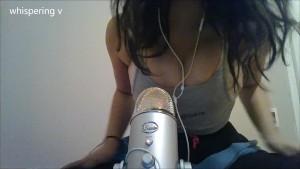 3D Binaural Sexy ASMR sounds & hot girl roleplay