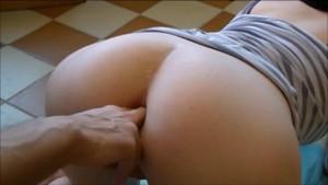 Close-up anal fingering and massage mature big ass fuck. Porn music video