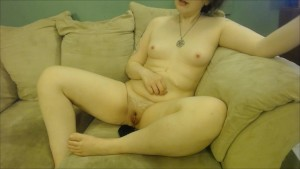 GTS Tiny on Clit, Tiny in Pussy and Ass VORE