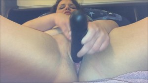 GHOST ORB in my bedroom?!? MILF BBW Plays Alone, catches Paranormal ORB