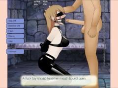 Average Gal turns into Hentai BDSM Cumslut: SDT: Slave Trainer
