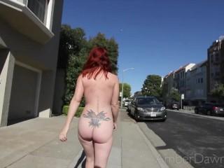 Amber Dawn XXX Nude in San Francisco